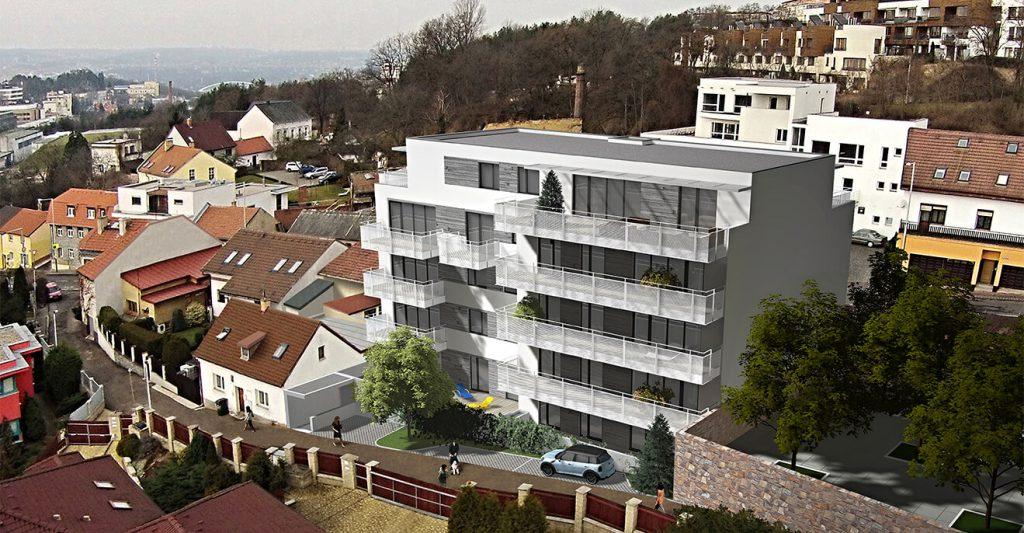 nové byty Praha 8 - Rezidence Davídkova