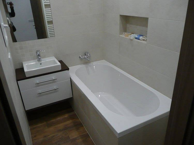 Podoba po rekonstrukci koupelny