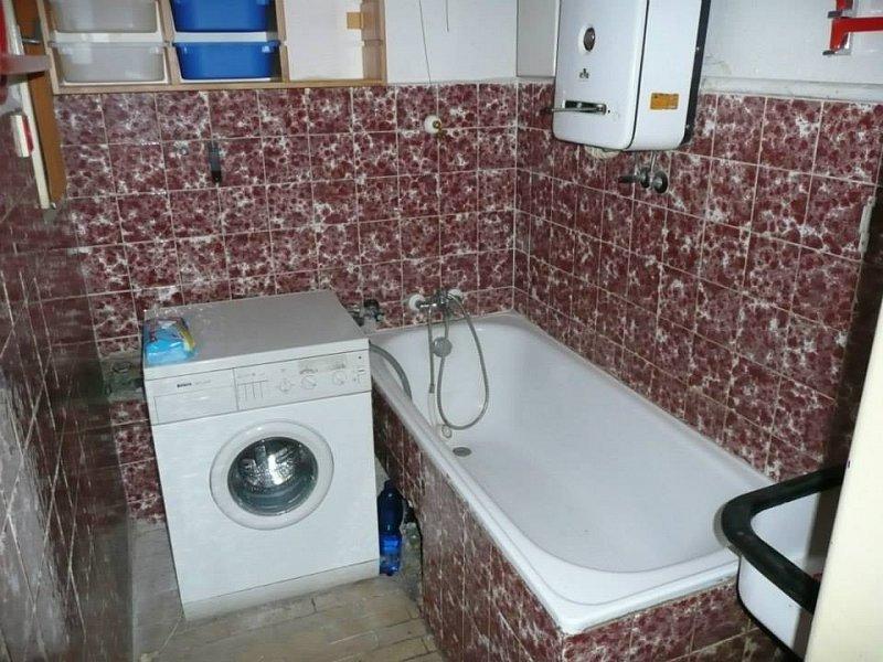 Původní podoba koupelny