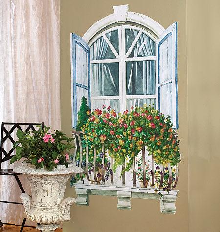 Vylepit si můžete i okno do imaginární zahrady
